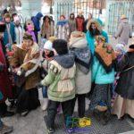 Празднование масленицы в Царицыно