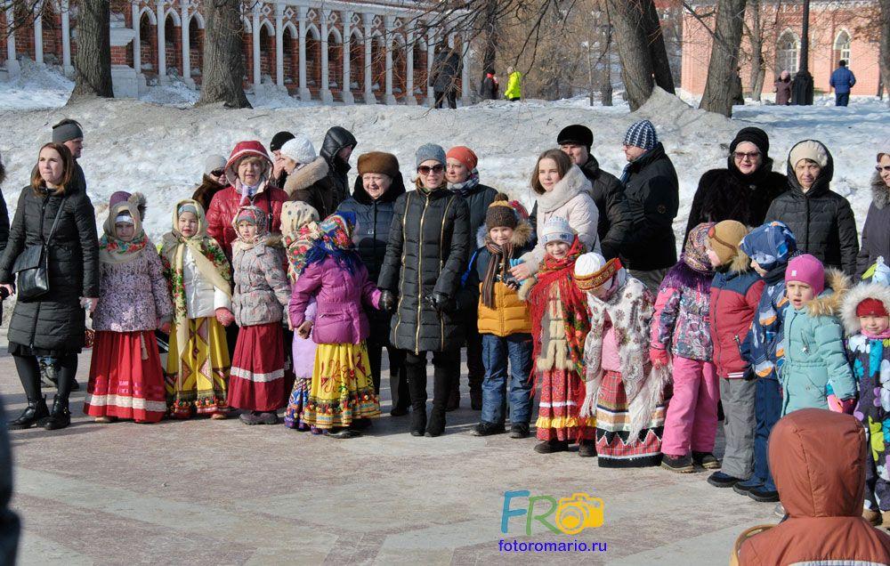 Фотосессии в парке Царицыно