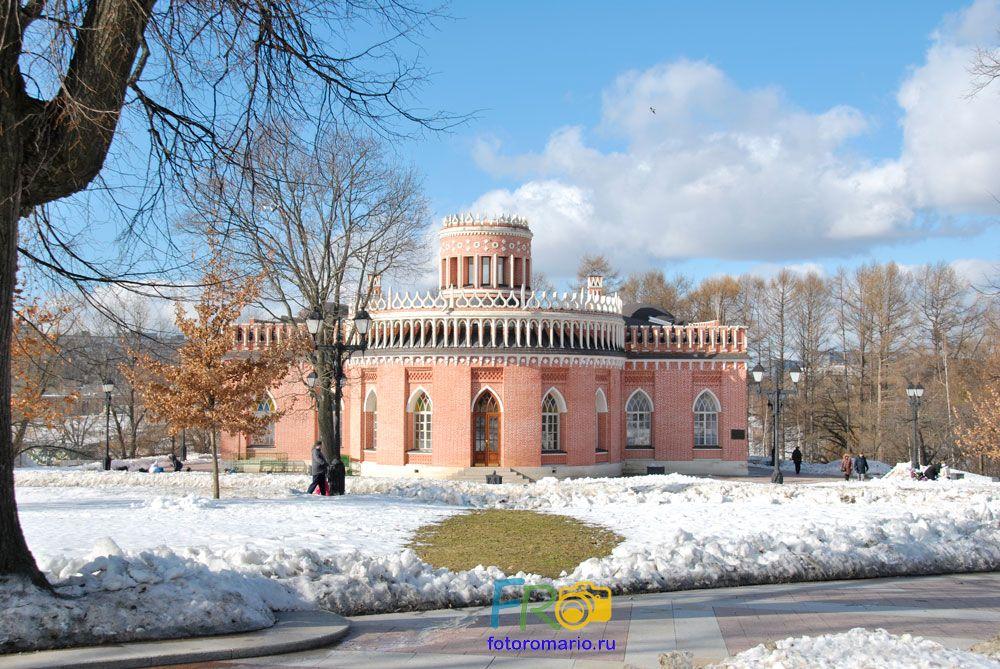 Фотосессия в парке Царицыно зимой