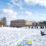 Царицынский музей-заповедник зимой
