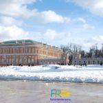 Парк Царицыно зимой